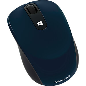 Maus (Mouse), Funk, Blue Track, blau MICROSOFT 43U-00013