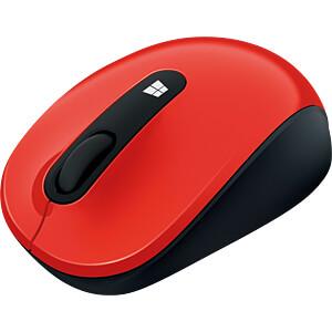 Maus (Mouse), Funk, Blue Track, rot MICROSOFT 43U-00025