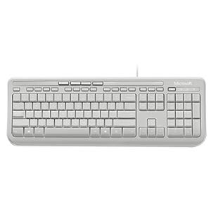Keyboard - USB - white MICROSOFT ANB-00028