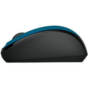 Wireless mouse — BlueTrack — cyan MICROSOFT GMF-00271