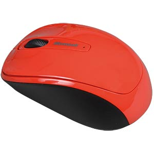Wireless mouse — BlueTrack — red MICROSOFT GMF-00195