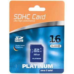 SDHC-Card 16GB Class 6 PLATINUM 177113