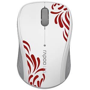 Wireless mouse - white RAPOO 10828