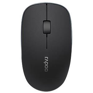 Maus (Mouse), Funk, schwarz RAPOO 16879