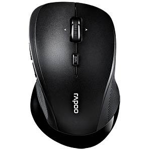 Maus (Mouse), Funk, schwarz RAPOO 16989