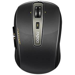 Maus (Mouse), Funk, schwarz RAPOO 12070