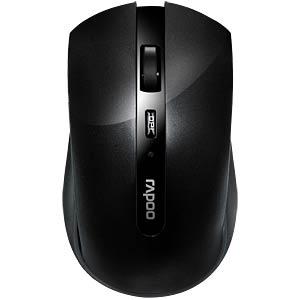 Maus (Mouse), Funk, schwarz RAPOO 10936