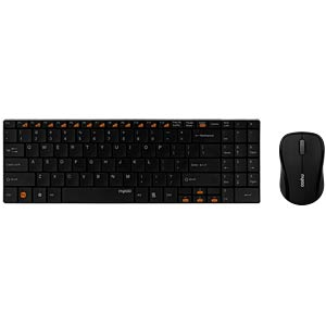Tastatur-/Maus-Kombination, Funk, schwarz RAPOO 11341