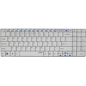 Funk-Tastatur, weiß RAPOO 11206