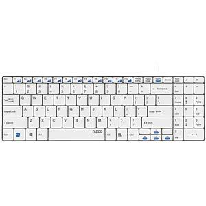 Tastatur, USB, weiß RAPOO 13741