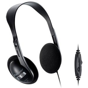 Stereo TV headphones, 5-m cable, black PIONEER SE-A611TV