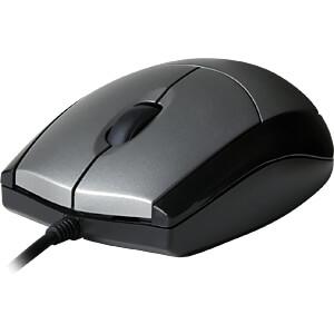 Maus (Mouse), Kabel, USB, schwarz V7 MV3000010-5EC