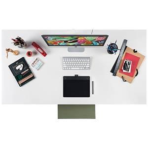 Grafiktablett mit Stift- & Touch-Eingabe WACOM CTH-690AK-S