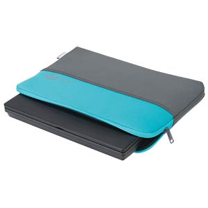 "Neoprene protective cover, 13.3"", grey and blue BASE XX D31135"