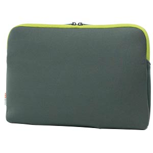 Neoprene protective cover, 13.3, grey and lime BASE XX D31138