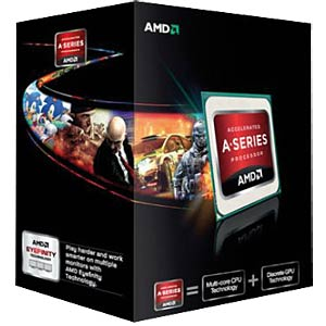 AMD FM2 A6-5400K black edition, 2x 3.60 GHz, boxed AMD AD540KOKHJBOX
