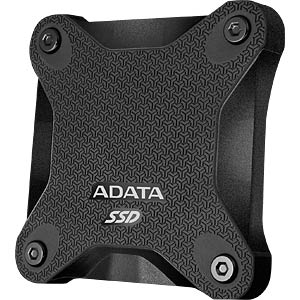 ADATA USB SSD Durable SD600 256GB schwarz A-DATA ASD600-256GU31-CBK