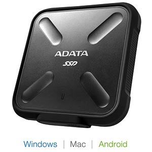 ADATA 512GB SD700 External SSD USB 3.1 A-DATA ASD700-512GU3-CBK