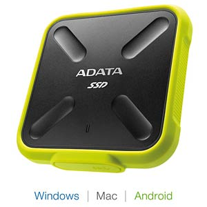 ADATA 512GB SD700 External SSD USB 3.1 A-DATA ASD700-512GU3-CYL