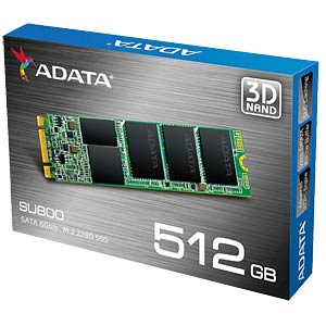 ADATA Ultimate SU800 512GB, M.2 SATA A-DATA ASU800NS38-512GT-C
