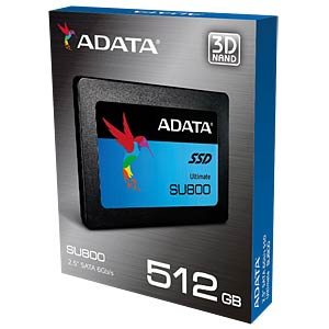 "ADATA Ultimate SU800 512GB 6,35cm (2,5"") A-DATA ASU800SS-512GT-C"