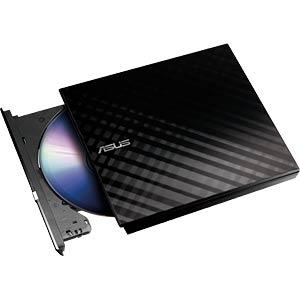 DVD-RW USB2.0 Asus, schwarz, Retail, Slim ASUS 90-DQ0435-UA221KZ