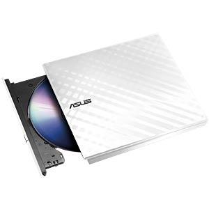 Asus DVD-RW USB 2.0, white, retail, slim ASUS 90-DQ0436-UA221KZ
