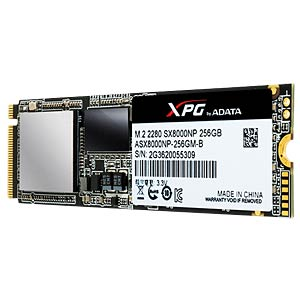 ADATA XPG SX8000 256GB, M.2 PCIe A-DATA ASX8000NP-256GM-C