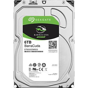 6TB Festplatte Seagate BarraCuda - Desktop SEAGATE ST6000DM003