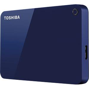 Toshiba Canvio Advance blau 1TB TOSHIBA HDTC910EL3AA