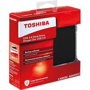Toshiba Canvio Advance schwarz 3TB TOSHIBA HDTC930EK3CA