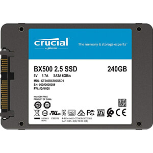 Crucial BX500 SSD 240GB CRUCIAL CT240BX500SSD1