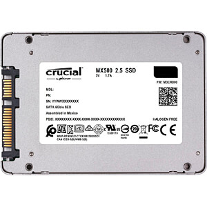 Crucial MX500 SSD 250GB CRUCIAL CT250MX500SSD1