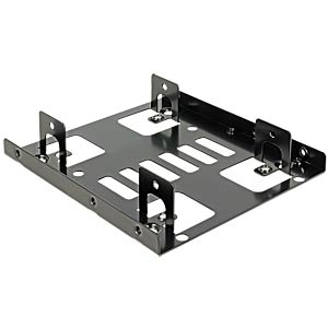 Mounting frame 2x 2.5 to 3.5 DELOCK 18210