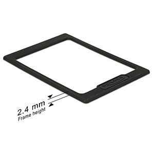 DELOCK 18216 - HDD & SSD - Erweiterungsrahmen/Spacer 2,5mm