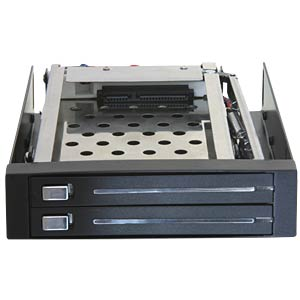 "Delock 3.5"" mobile rack for 2x 2.5"" SATA DELOCK 47189"