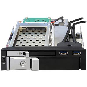 5.25 mobile rack for 2.5 /3.5 HDD DELOCK 47209
