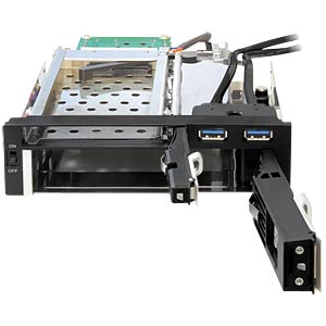 "5.25 mobile rack for 2.5 ""/3.5"" HDD DELOCK 47209"