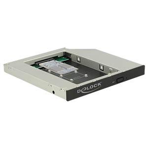 Einbaurahmen für mSATA SSD in 5,25 Slim DELOCK 62717