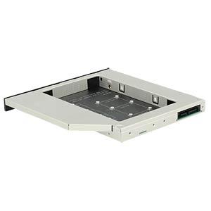 Einbaurahmen für mSATA/M.2 SSD in 5,25 Slim DELOCK 62718