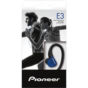 Kopfhörer, In-Ear, blau PIONEER SE-E3-L