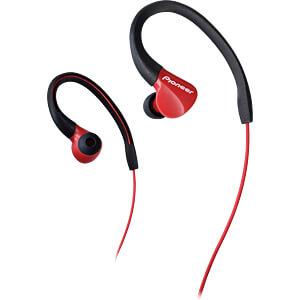 Kopfhörer, In-Ear, rot PIONEER SE-E3-R