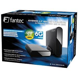 FANTEC DB-ALU3e-6G mit 2 TB HDD FANTEC 16933