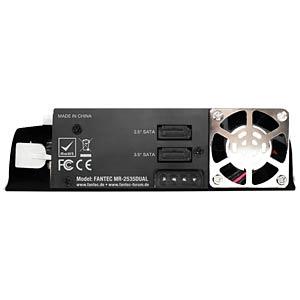 FANTEC MR-2535DUAL 1x8.9cm 1x 6.4cm HDD removable frame FANTEC 1871