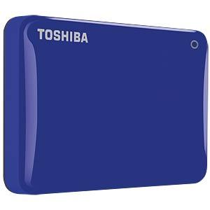 Toshiba Canvio Connect II 1 TB blue TOSHIBA HDTC810EL3AA