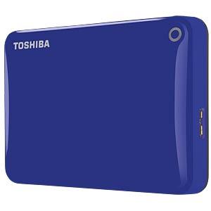 Toshiba Canvio Connect II 3 TB blau TOSHIBA HDTC830EL3CA