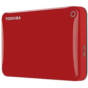 Toshiba Canvio Connect II 1 TB red TOSHIBA HDTC810ER3AA