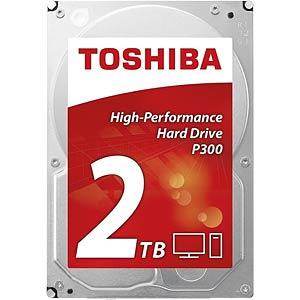 2TB Festplatte Toshiba P300 - Desktop TOSHIBA HDWD120UZSVA