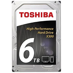 6TB Festplatte Toshiba X300 - Desktop TOSHIBA HDWE160UZSVA