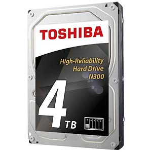 4TB Festplatte Toshiba N300 - NAS TOSHIBA HDWQ140UZSVA